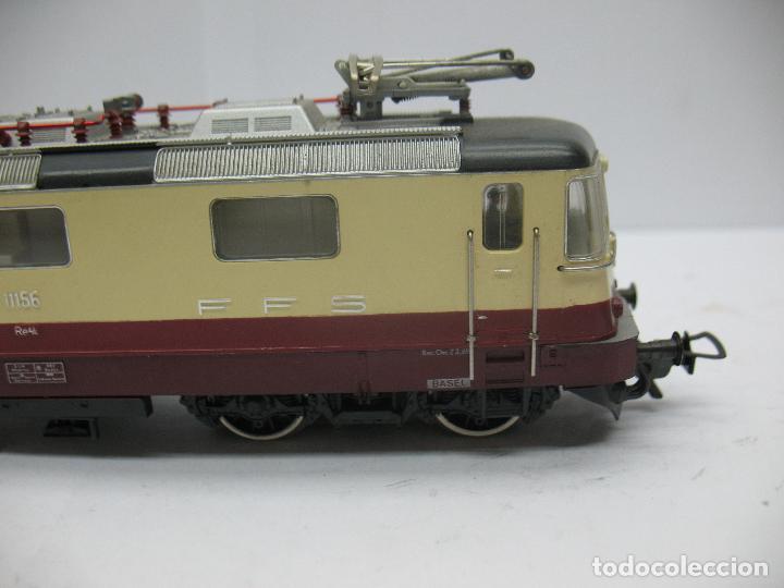 Trenes Escala: Fleischmann - Locomotora eléctrica de la SBB FFS 11156 corriente alterna - Escala H0 - Foto 4 - 71245799