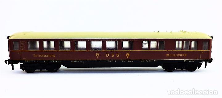 FLEISCHMANN COCHE RESTAURANTE DSG (Juguetes - Trenes Escala H0 - Fleischmann H0)