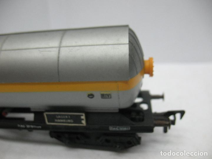 Trenes Escala: Fleischmann - Vagón cisterna SHELL de la DB 581854 - Escala H0 - Foto 5 - 75677783