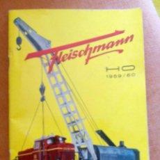 Trenes Escala: CATALOGO FLEISCHMANN. Lote 84436496