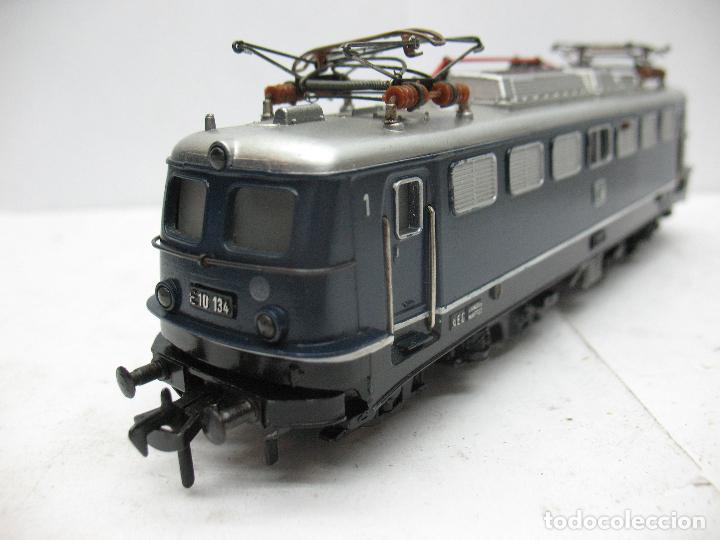 Trenes Escala: Fleischmann - Locomotora eléctrica de la DB E 10 134 corriente continua - Escala H0 - Foto 5 - 84692492