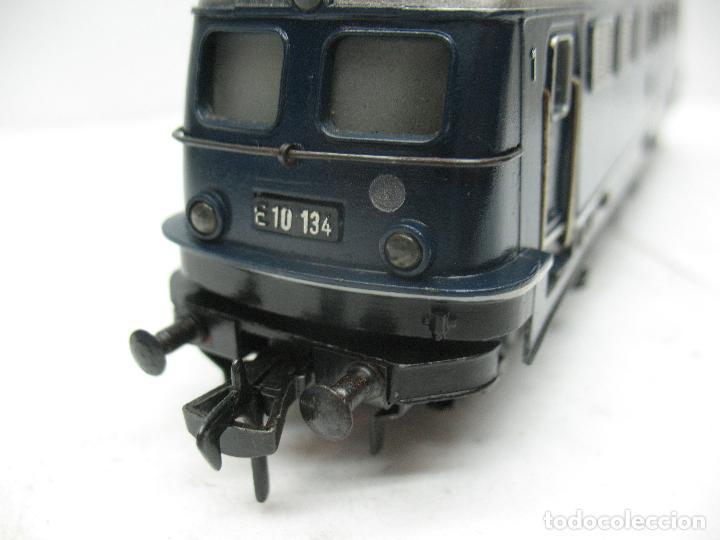 Trenes Escala: Fleischmann - Locomotora eléctrica de la DB E 10 134 corriente continua - Escala H0 - Foto 6 - 84692492