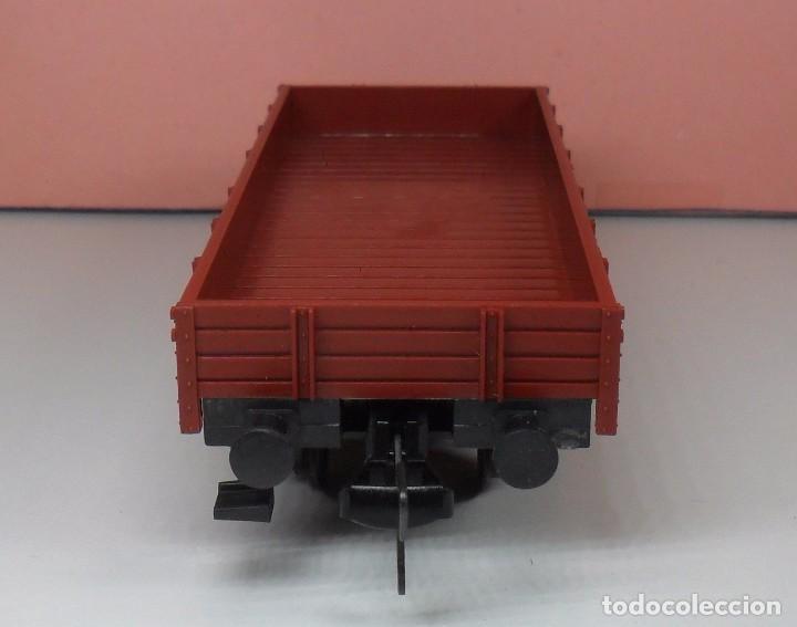 Trenes Escala: FLEISCHMANN H0 - Vagón de borde bajo - DB - Foto 2 - 92197425
