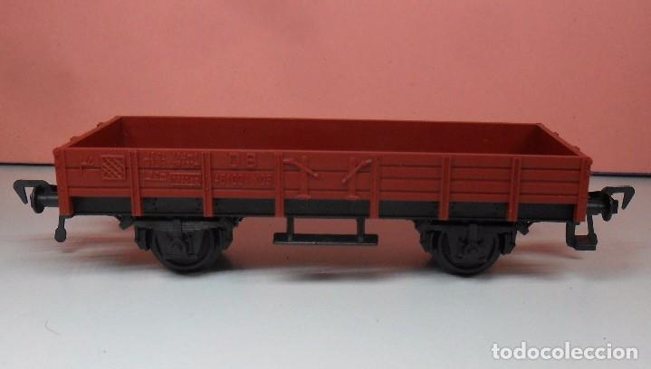 Trenes Escala: FLEISCHMANN H0 - Vagón de borde bajo - DB - Foto 3 - 92197425