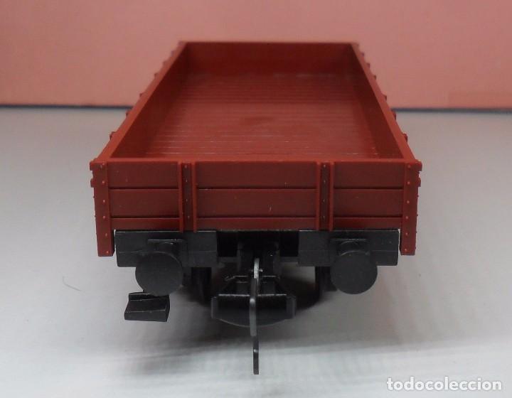 Trenes Escala: FLEISCHMANN H0 - Vagón de borde bajo - DB - Foto 4 - 92197425