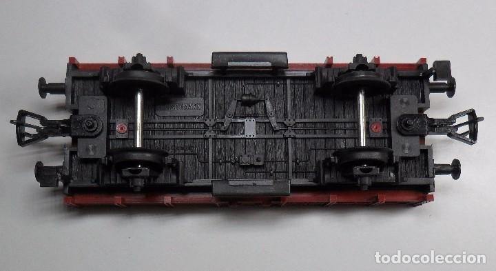 Trenes Escala: FLEISCHMANN H0 - Vagón de borde bajo - DB - Foto 6 - 92197425