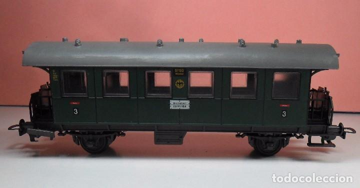 Trenes Escala: FLEISCHMANN H0 - Vagón de pasajeros de 3ª clase - Foto 3 - 92211235