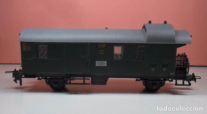 Trenes Escala: FLEISCHMANN H0 - Vagón de equipajes - Foto 3 - 92211690