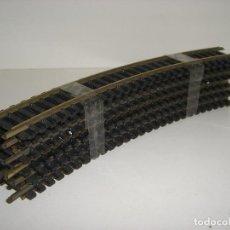 Trenes Escala: HO FLEISCHMANN 12 VIAS CURVAS REF 6025 R 357,5 (CON COMPRA DE 5 LOTES O MAS ENVÍO GRATIS). Lote 94876875