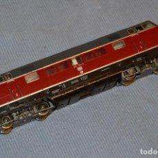 Trenes Escala: FLEISCHMANN V 200 035 H0 - CORRIENTE CONTINUA - REFERENCIA 1381 - FUNCIONANDO CORRECTAMENTE. Lote 95590335