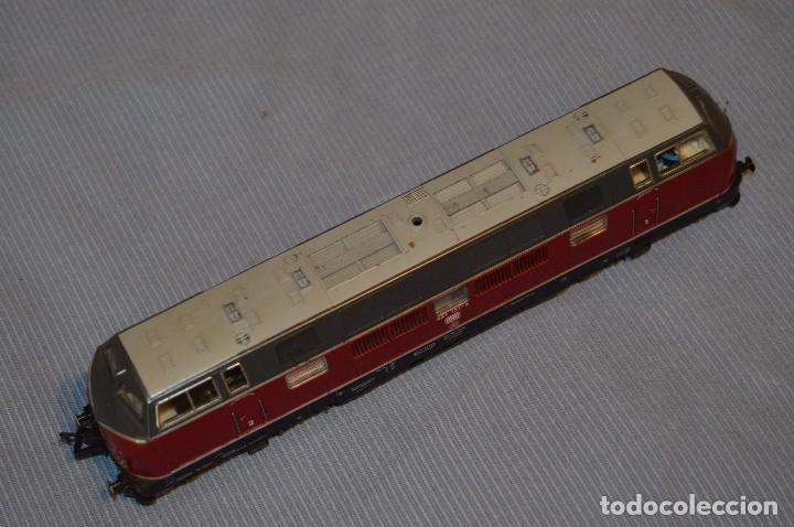 Trenes Escala: FLEISCHMANN V 200 035 H0 - Corriente Continua - Referencia 1381 - Funcionando correctamente - Foto 2 - 95590335