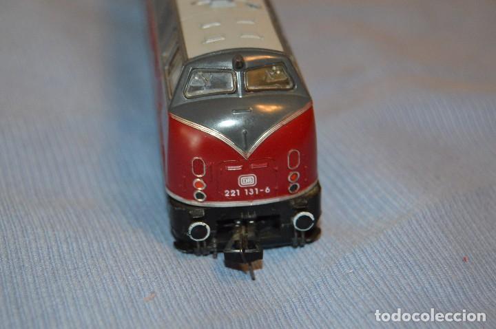 Trenes Escala: FLEISCHMANN V 200 035 H0 - Corriente Continua - Referencia 1381 - Funcionando correctamente - Foto 7 - 95590335