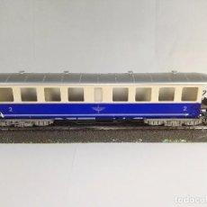 Trenes Escala: VAGON DE PASAJEROS 2º CLASE ELB FLEISCHMANN 1417 A ESCALA H0. Lote 95690803