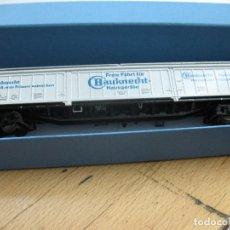 Trenes Escala: VAGON CERRADO MERCANCIAS BAUKNECHT DE LA DB. Lote 95887811
