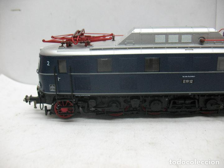 Trenes Escala: Fleischmann - Locomotora eléctrica E1912 corriente continua - Escala H0 - Foto 2 - 97838723