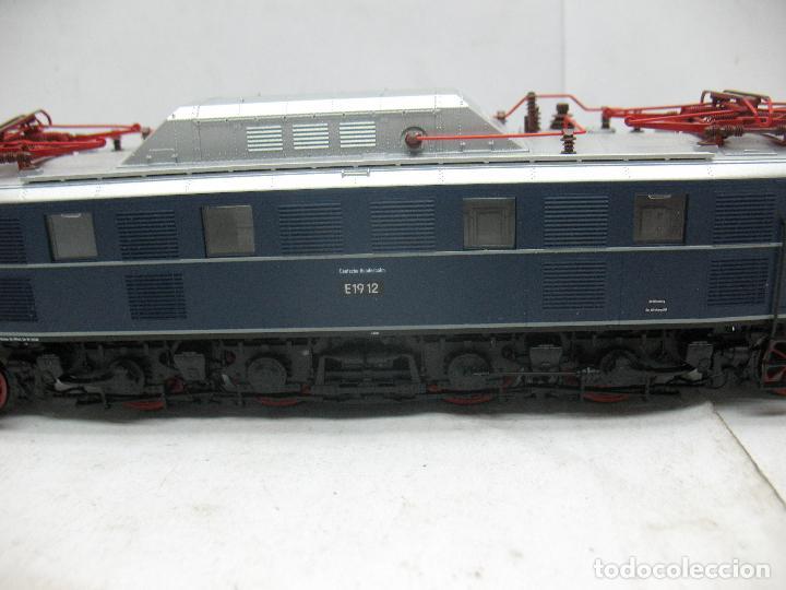 Trenes Escala: Fleischmann - Locomotora eléctrica E1912 corriente continua - Escala H0 - Foto 3 - 97838723