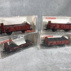 Trenes Escala: LOTE X4 VAGONES FLEISCHMANN. Lote 97948066