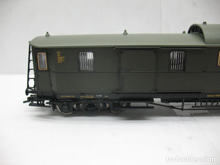 Trenes Escala: Fleischmann Ref: 5810 01 K - Furgón 93 007 - Escala H0 - Foto 3 - 163729572