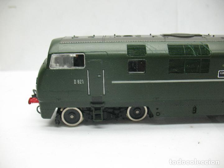 Trenes Escala: Fleischmann - Locomotora Diesel D 821 Grey Hound corriente continua - Escala H0 - Foto 2 - 100739723