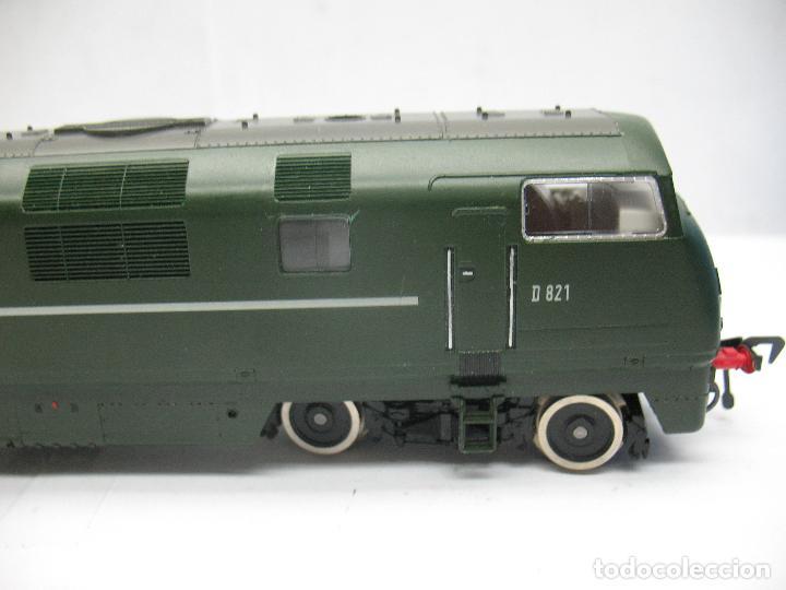 Trenes Escala: Fleischmann - Locomotora Diesel D 821 Grey Hound corriente continua - Escala H0 - Foto 5 - 100739723