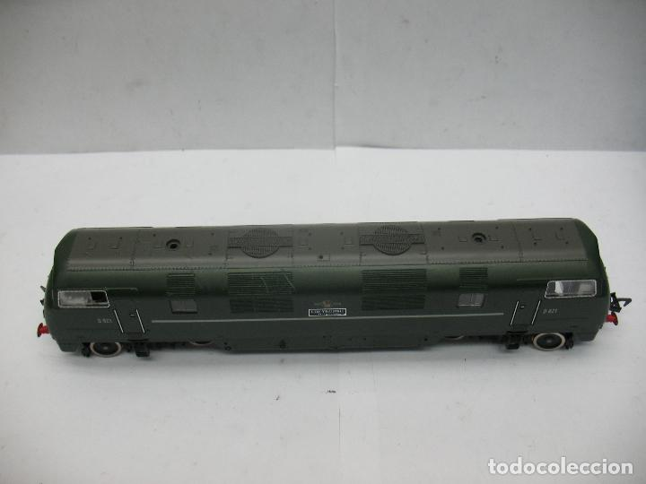 Trenes Escala: Fleischmann - Locomotora Diesel D 821 Grey Hound corriente continua - Escala H0 - Foto 6 - 100739723