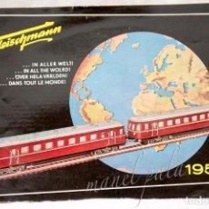 Trenes Escala: FLEISCHMANN CATÁLOGO 1955. Lote 105619535