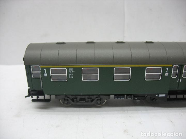 Trenes Escala: Fleischmann Ref: 5128 - Coche de pasajeros de la DB 50 80 38 - 11 189-6 - Escala H0 - Foto 3 - 106907371