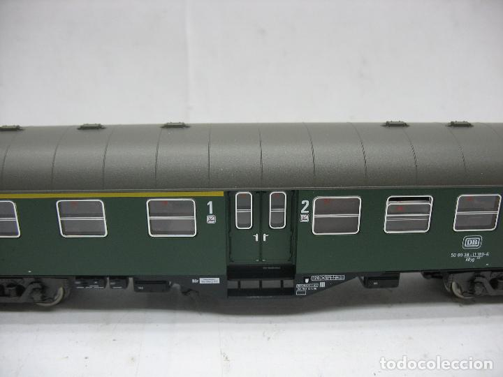 Trenes Escala: Fleischmann Ref: 5128 - Coche de pasajeros de la DB 50 80 38 - 11 189-6 - Escala H0 - Foto 4 - 106907371