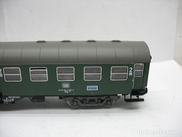 Trenes Escala: Fleischmann Ref: 5128 - Coche de pasajeros de la DB 50 80 38 - 11 189-6 - Escala H0 - Foto 5 - 106907371