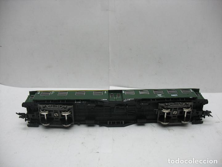Trenes Escala: Fleischmann Ref: 5128 - Coche de pasajeros de la DB 50 80 38 - 11 189-6 - Escala H0 - Foto 7 - 106907371