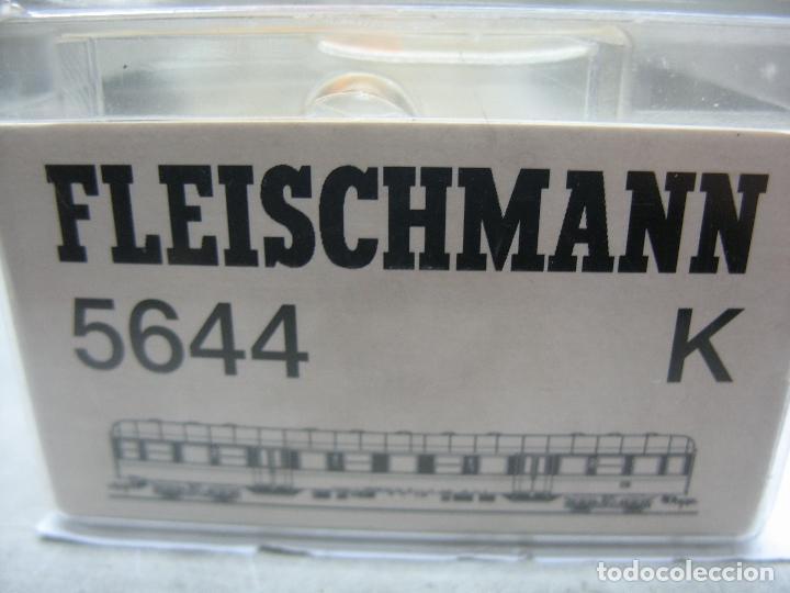 Trenes Escala: Fleischmann Ref: 5644 K - Coche de pasajeros de la DB - Escala H0 - Foto 8 - 106908111