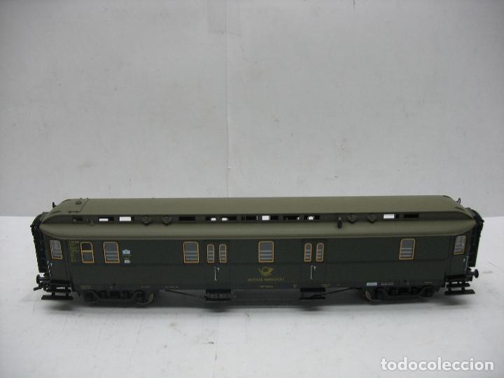 Trenes Escala: Fleischmann Ref: 5678 K - Furgón de correos Post 3067 - Escala H0 - Foto 2 - 106909151