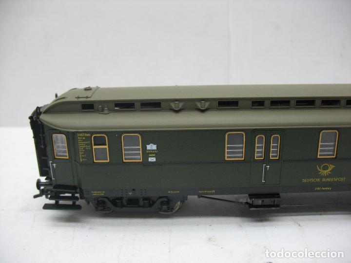 Trenes Escala: Fleischmann Ref: 5678 K - Furgón de correos Post 3067 - Escala H0 - Foto 3 - 106909151
