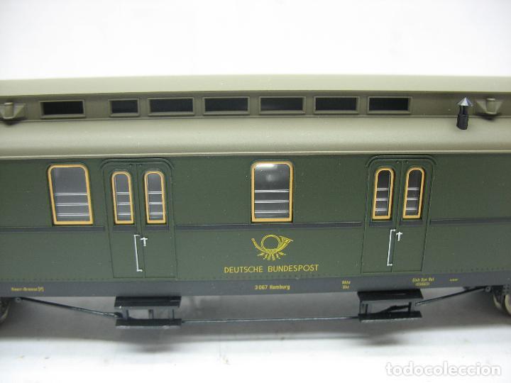 Trenes Escala: Fleischmann Ref: 5678 K - Furgón de correos Post 3067 - Escala H0 - Foto 4 - 106909151