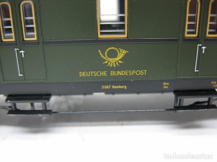 Trenes Escala: Fleischmann Ref: 5678 K - Furgón de correos Post 3067 - Escala H0 - Foto 5 - 106909151