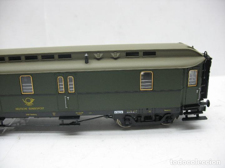 Trenes Escala: Fleischmann Ref: 5678 K - Furgón de correos Post 3067 - Escala H0 - Foto 6 - 106909151