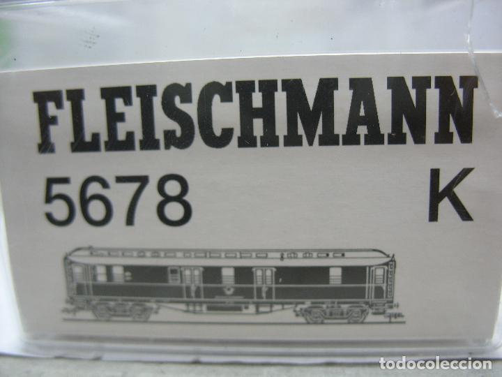 Trenes Escala: Fleischmann Ref: 5678 K - Furgón de correos Post 3067 - Escala H0 - Foto 10 - 106909151