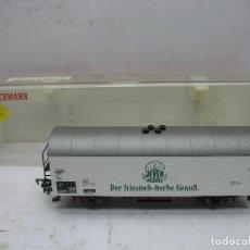 Trenes Escala: FLEISCHMANN REF: 5325 - VAGÓN DE MERCANCÍAS CERRADO DE LA DB DER FRIESISCH - ESCALA H0. Lote 109528035