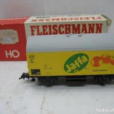 Trenes Escala: FLEISCHMANN REF: 5043 - VAGÓN DE MERCANCÍAS CERRADO JAFFA - ESCALA H0. Lote 109529239