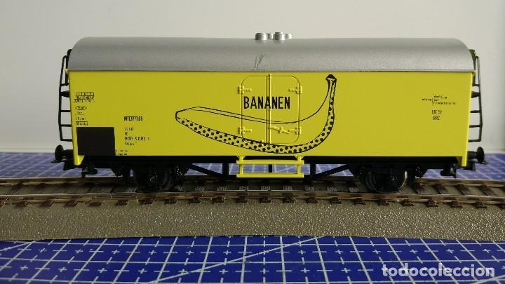 ROCO 02672 VAGÓN REFRIGERADO INTERFRIGO BANANEN (Juguetes - Trenes Escala H0 - Fleischmann H0)
