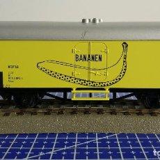 Trenes Escala: ROCO 02672 VAGÓN REFRIGERADO INTERFRIGO BANANEN . Lote 110031795