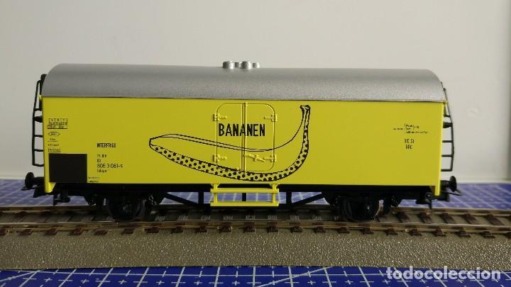 Trenes Escala: Roco 02672 Vagón refrigerado Interfrigo Bananen - Foto 2 - 110031795