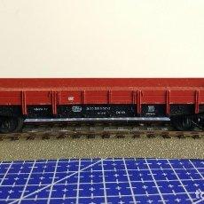 Trenes Escala: FLEISCHMANN 5281 VAGÓN PLATAFORMA BAJA DE LA DB. Lote 110036655