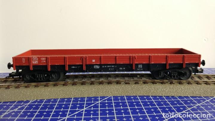 Trenes Escala: Fleischmann 5281 Vagón plataforma baja de la DB - Foto 2 - 110036655