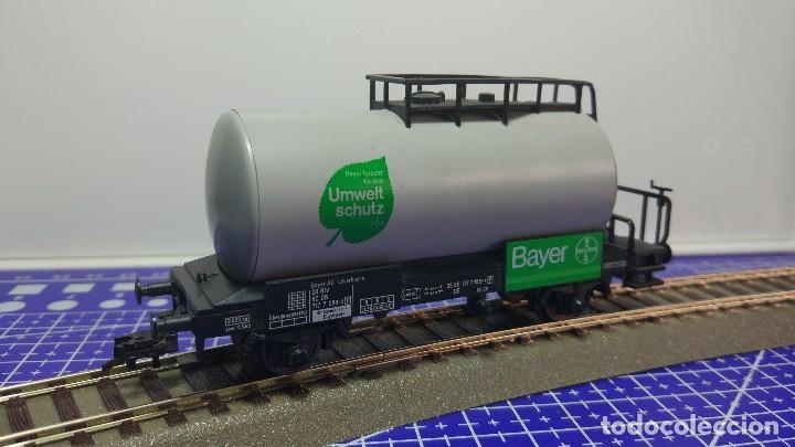 Trenes Escala: Fleischmann 5409 vagón bayer protección del medio ambiente de la DB - Foto 2 - 112665691