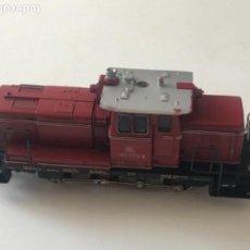 Trenes Escala: LOCOMOTORA DIESEL FLEISCHMANN V60 1009 DE LA DB . Lote 114964831