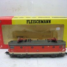 Trenes Escala: FLEISCHMANN REF: 4367 - LOCOMOTORA ELÉCTRICA 1043006-4 DE LA OBB CORRIENTE CONTINUA - ESCALA H0. Lote 183170260