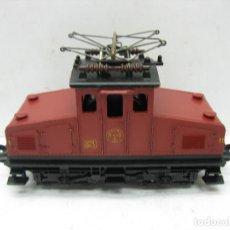 Trenes Escala: FLEISCHMANN - LOCOMOTORA ELÉCTRICA 1302 GFN 1963 CORRIENTE CONTINUA - ESCALA H0. Lote 115477075
