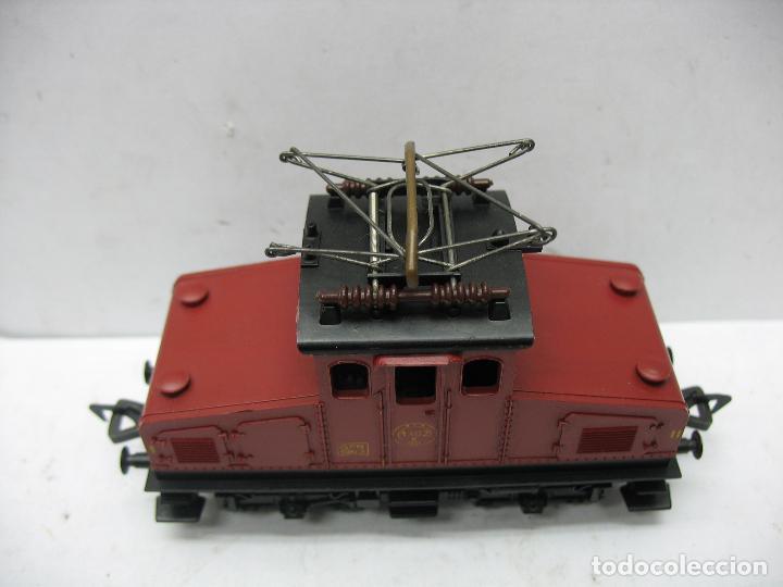 Trenes Escala: Fleischmann - Locomotora eléctrica 1302 GFN 1963 corriente continua - Escala H0 - Foto 2 - 115477075