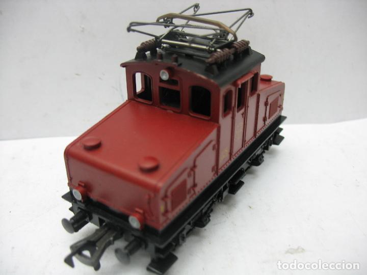 Trenes Escala: Fleischmann - Locomotora eléctrica 1302 GFN 1963 corriente continua - Escala H0 - Foto 3 - 115477075